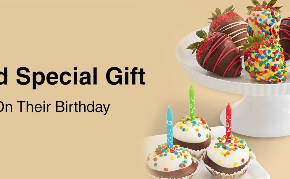 Send special gifts on their birthday