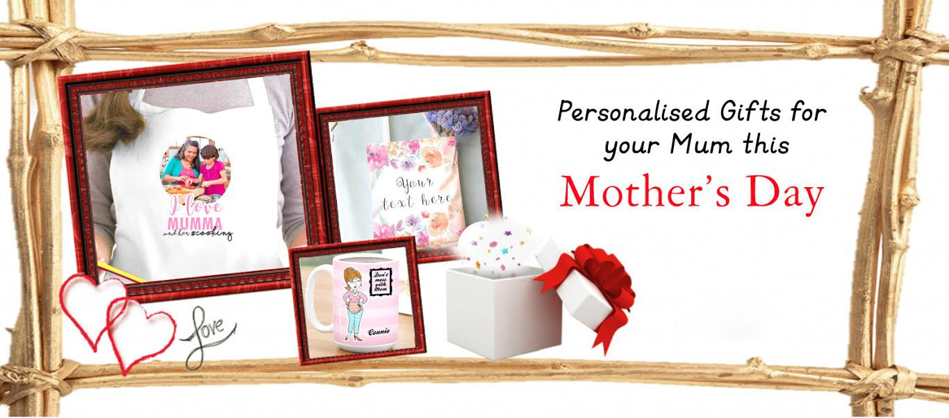 Personalized Gifts for your Mum this Mother's Day