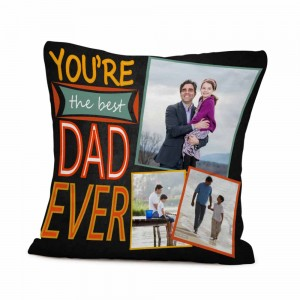 Personalized cushion for Father's Day