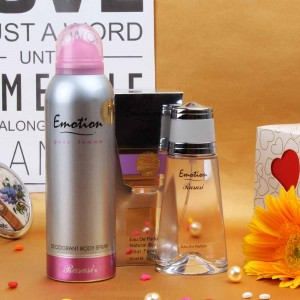 RASASI EMOTION PERFUME AND DEODORANT COMBO