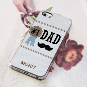No.1 Dad phone cover
