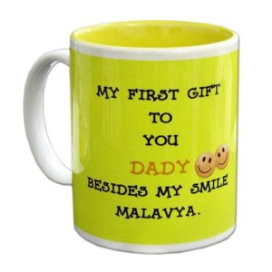 Personalized two tone mug
