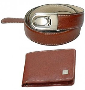 Wallet and Belt set