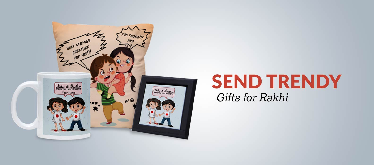 Send Trendy Gifts for Rakhi