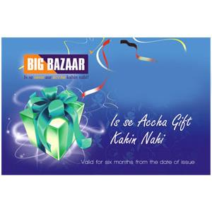 Big Bazaar card for Mom
