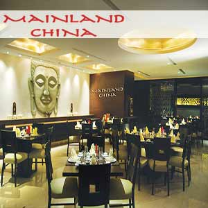 Mainland China Dining card