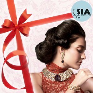 Sia jewelry voucher for Mother's day
