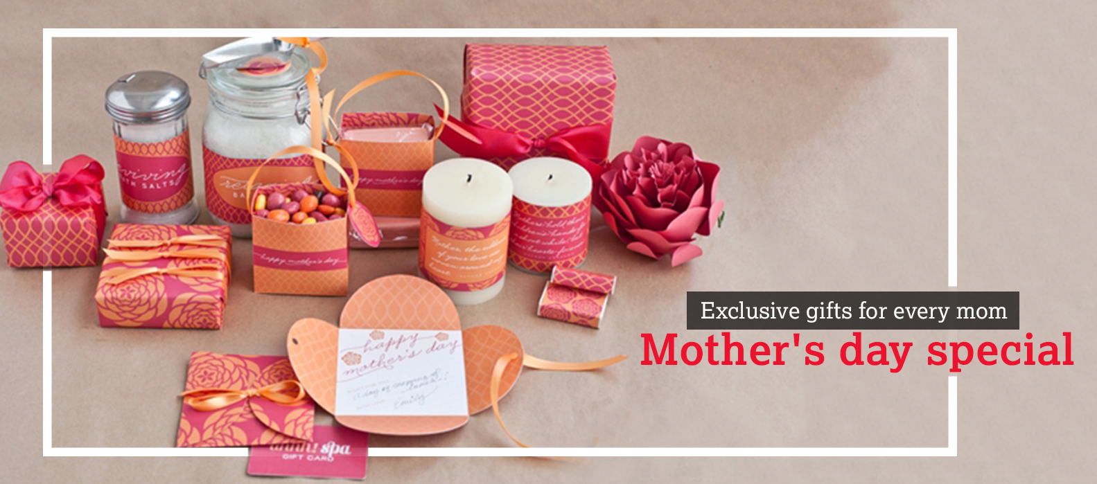 Exclusive gifts for Mother's day- Mother's day special