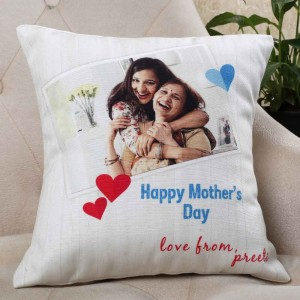 MOTHER'S DAY BEST MOM EVER CUSHION