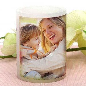 Personalized candle for mom