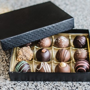 Gourmet chocolate box for diwali