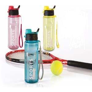 Varmora Clear Sport Water Bottle Set of 3