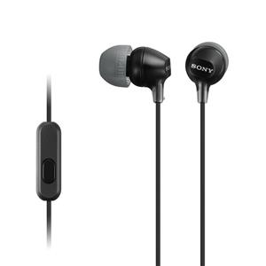 Sony MDR-EX15AP EX Stereo Headphones with Mic (Black)