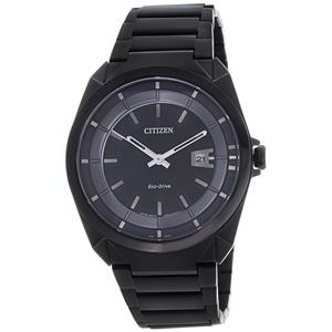 Citizen-Citizen Eco-Drive Analog Black Dial Men's Watch - AW1015-53E