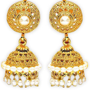 Pearl Earrings-Priyanka - ER