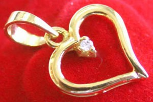 Heart Collection-Amor pendant