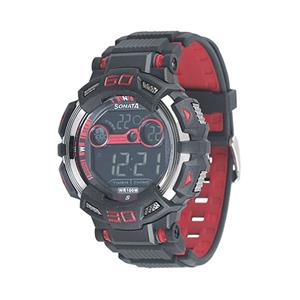 Sonata 77009Pp01 Men's Digital Watch