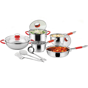 Cookware Italian Passion At Kitchen (Set Of 11 Pcs)