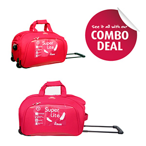Duffle Bags-Encore Duffel 20 Inches and Duffel 28 Inches Combo Offer With Free Single Mask
