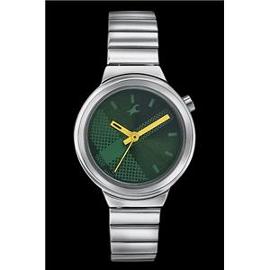 Fastrack Girls Metal Analog Green Watch - 6149SM02