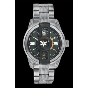 Fastrack Guys Stainless Steel Analog Green Watch - 3152KM02