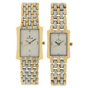 Titan Bandhan Couple Watches 19272927BM01