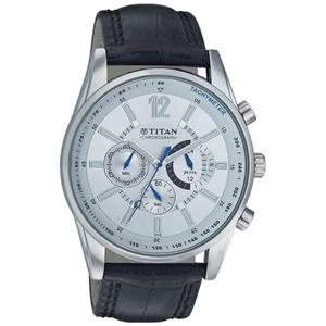 Titan-Titan Octane Men Metal Watch -9322SL02