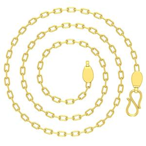 Gold Chains-Avsar 18k Gold 18 Inch Belcher Chain
