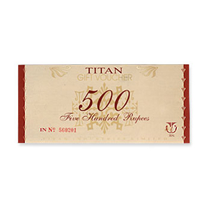 Watches Gift Voucher-Titan Gift Card