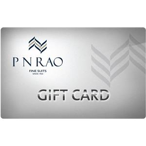 Apparel Gift Vouchers-PN Rao Gift Card 3000