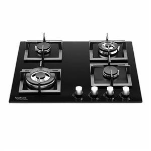 Gas Tops & Cook Tops-HINDWARE FLORA 4B 60CM BUILT-IN-HOBS