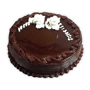 All India Cakes-Rich Chocolate Truffle 1 Kg Cake