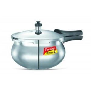 Cookers-Prestige Deluxe(S.S) Cookers - 3.3 ltr Handi