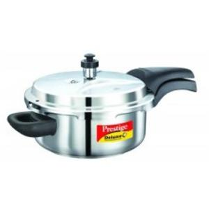 Cookers-Prestige Deluxe(S.S) Cookers - Senior Pressure Pan