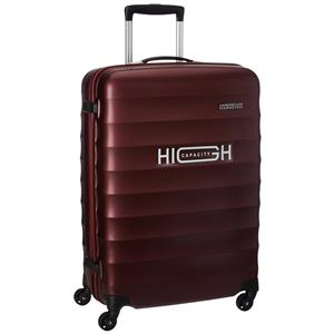 American Tourister 55Cm Paralite + Sp Crimson Maroon 4 Wheel Hard Luggage Strolley
