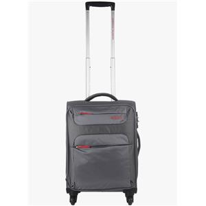 American Tourister 55Cm Ski Grey/Red Strolley