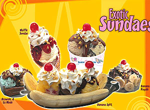 Fast Food Gift Vouchers-Baskin Robbins Gift Voucher