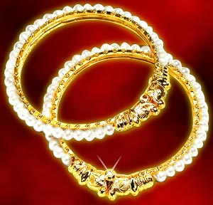 Pearl Bangles-Pearl Bangle