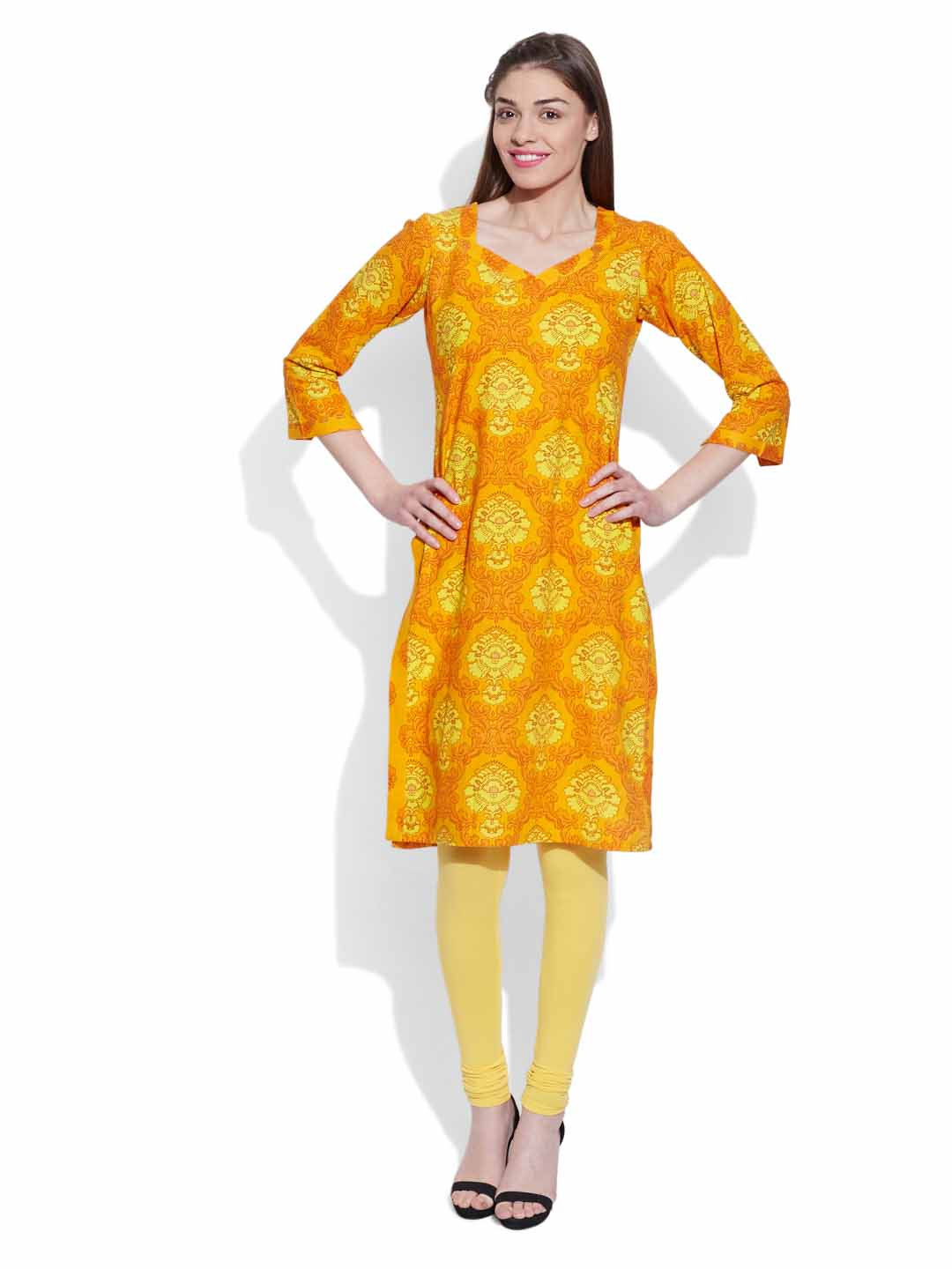 Cotton Printed Long Kurta