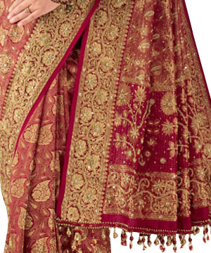 Brocade Silk Sarees-Brocade Silk Saree