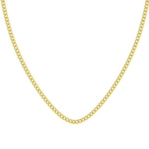 Gold-Avsar 18k (750) Yellow Gold Curb Chain Necklace