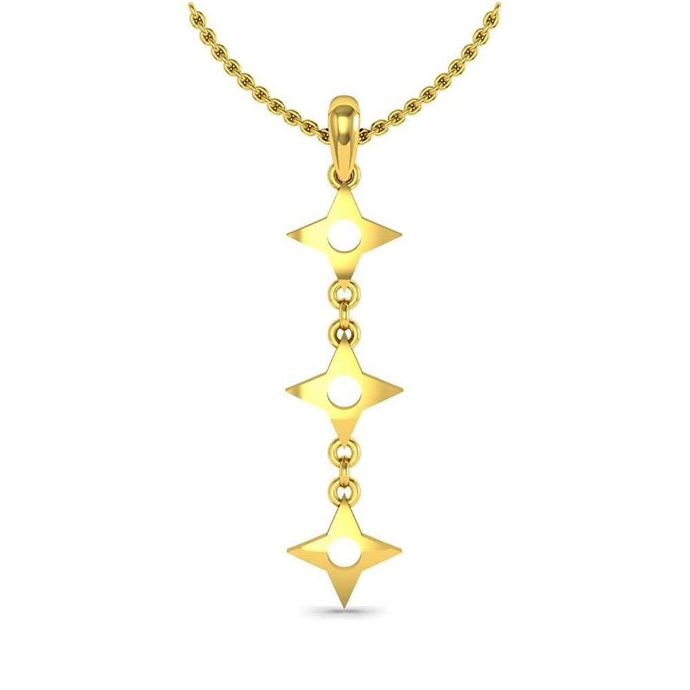 Avsar New Collection 18K (750) Yellow Gold Pendant