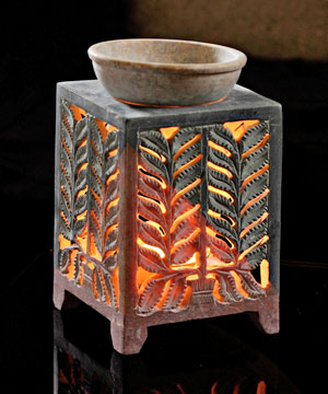 Enchanting Dual Tone Oil Burner