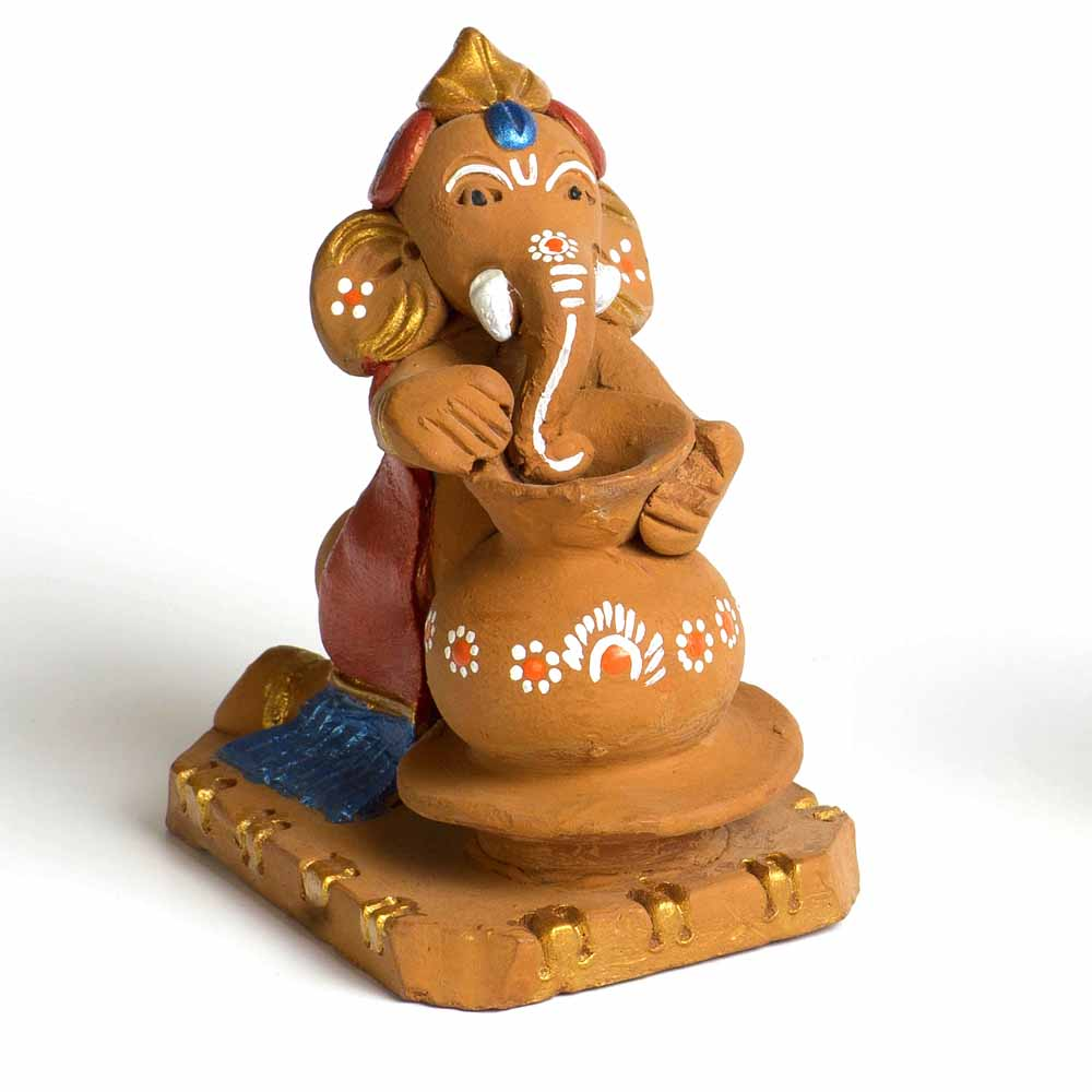 Terracotta Pot Making Ganesh