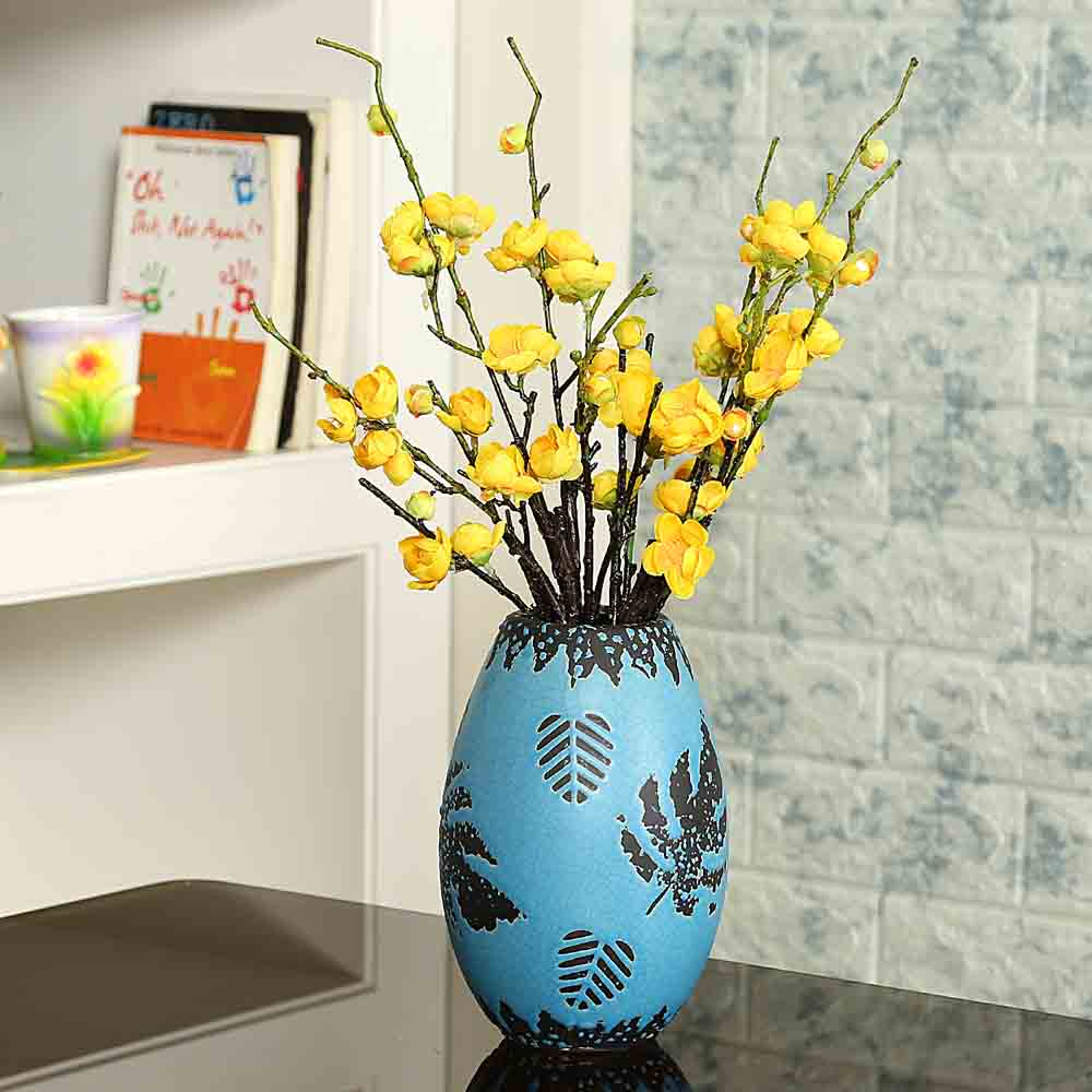 Beautiful Blue Ceramic Vase