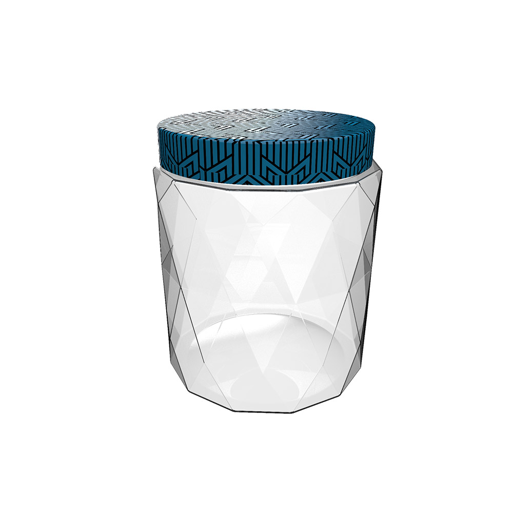 Nani Crystal Gem Jar 1000 ml