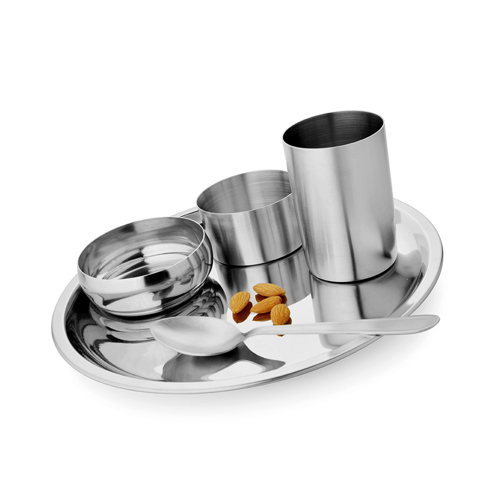 Thali Set 5 Pcs Deluxe