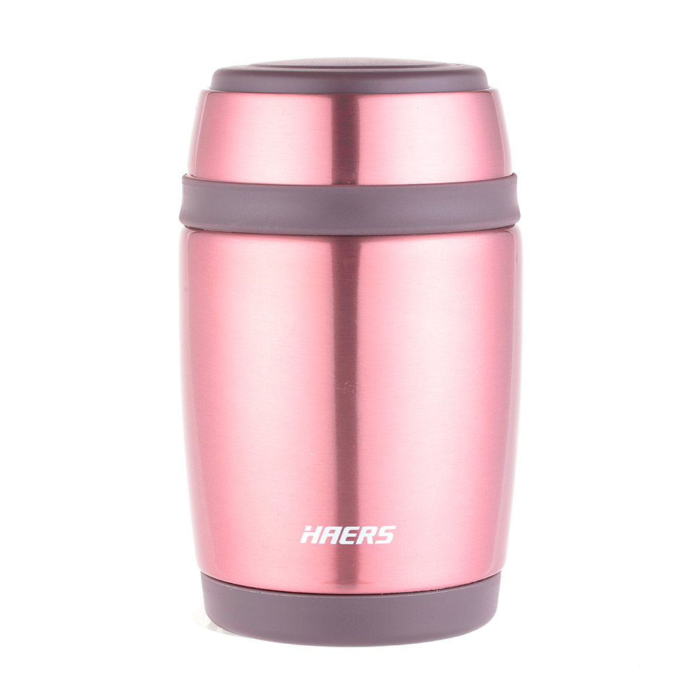 Haers Thermal Food Jar 380 ML - Rose Gold