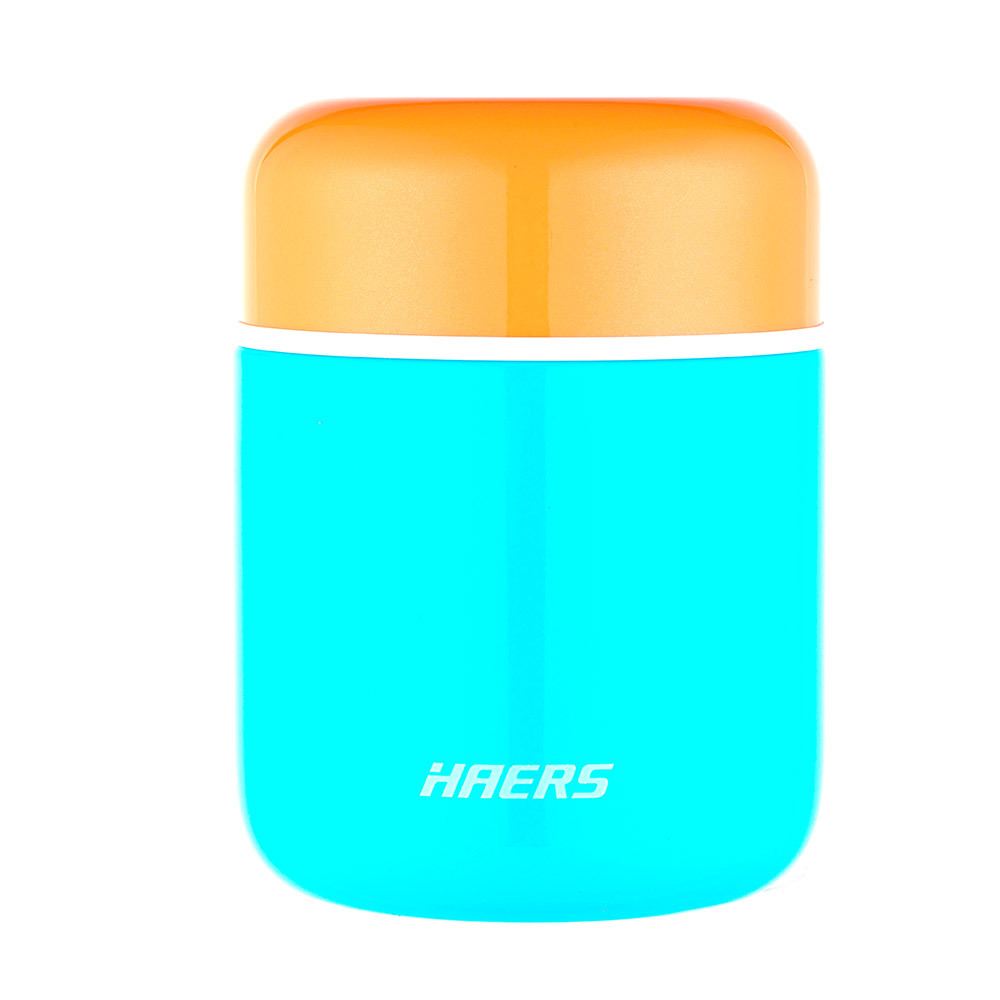 Haers Thermal Food Jar 280 ML - Blue