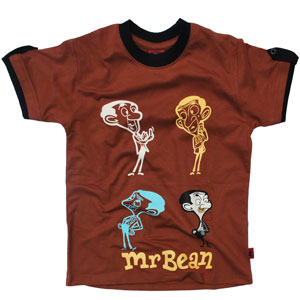 5e429689f Mr. Bean Printed Round Neck T-shirt For Boys India